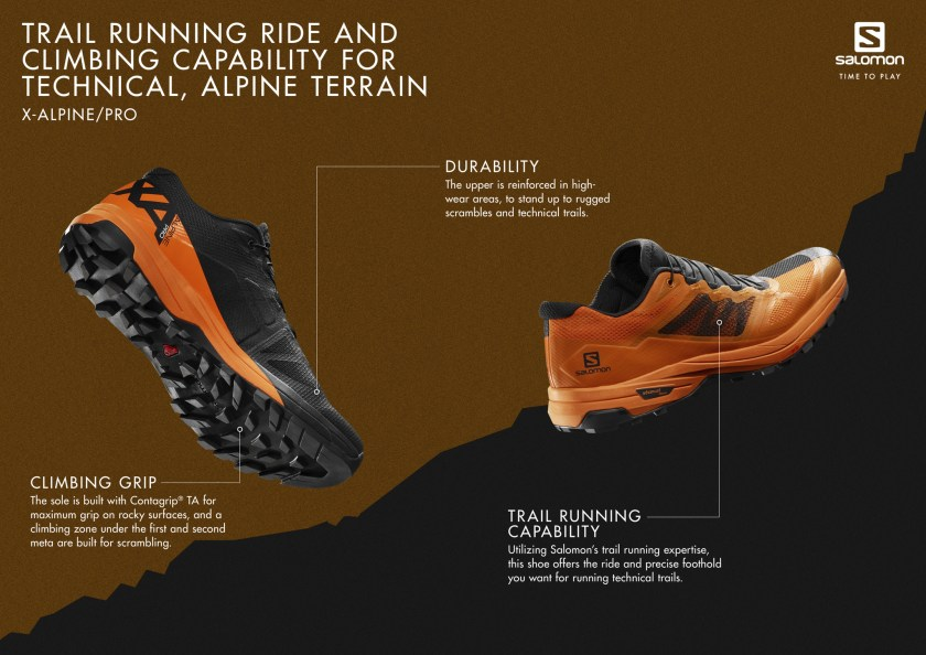 2019 Shoe Previews Salomon X Alpine Pro