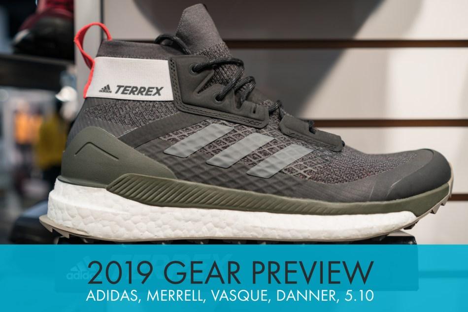 2019 Shoe Previews: Adidas Outdoor, Merrell, Vasque, Danner, and Five Ten