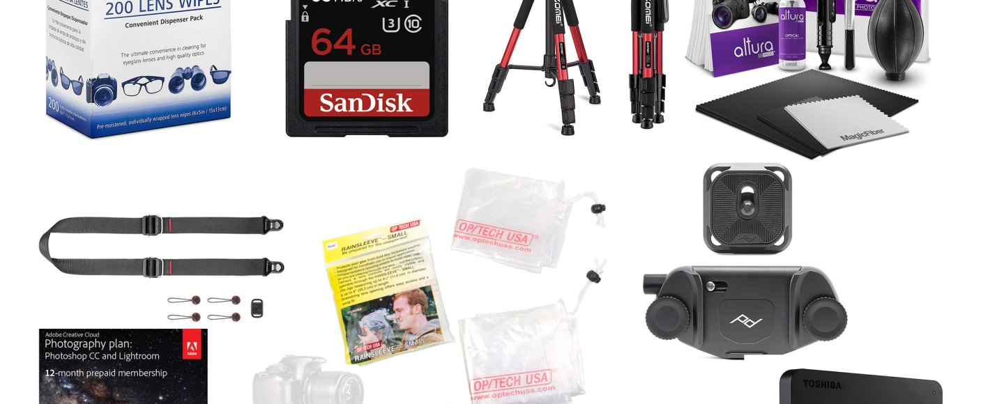 10 great gift ideas for photographers - trail to peak