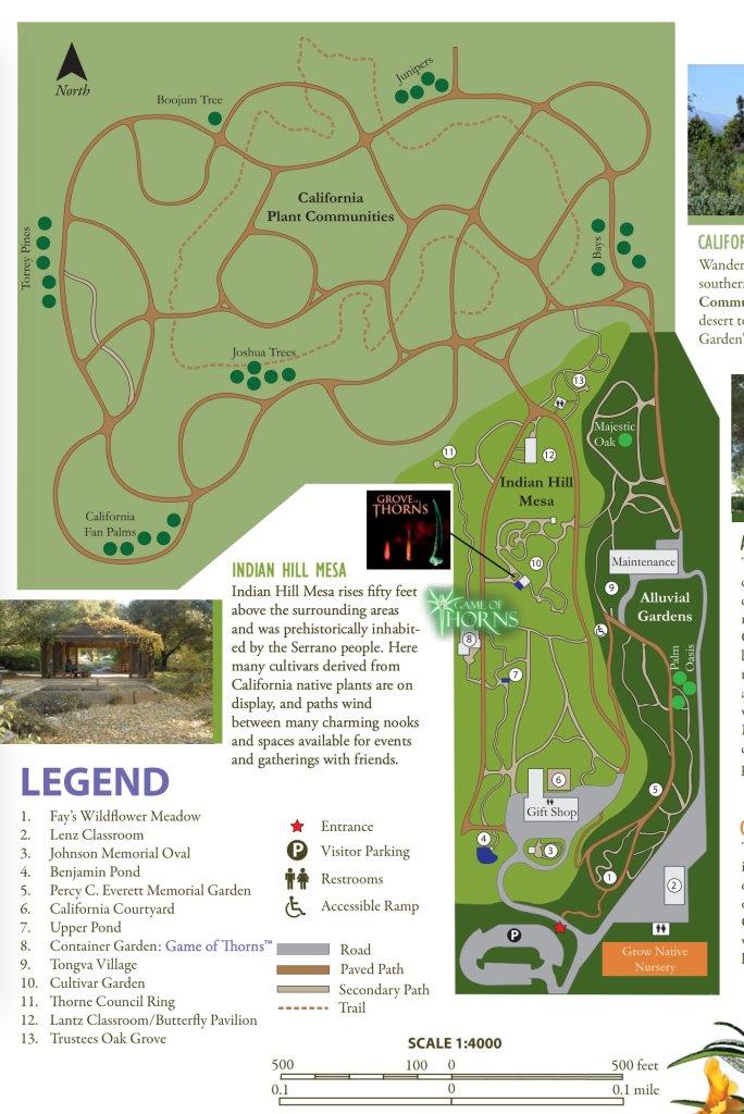 A Walk Around The Rancho Santa Ana Botanic Garden - Claremont, CA