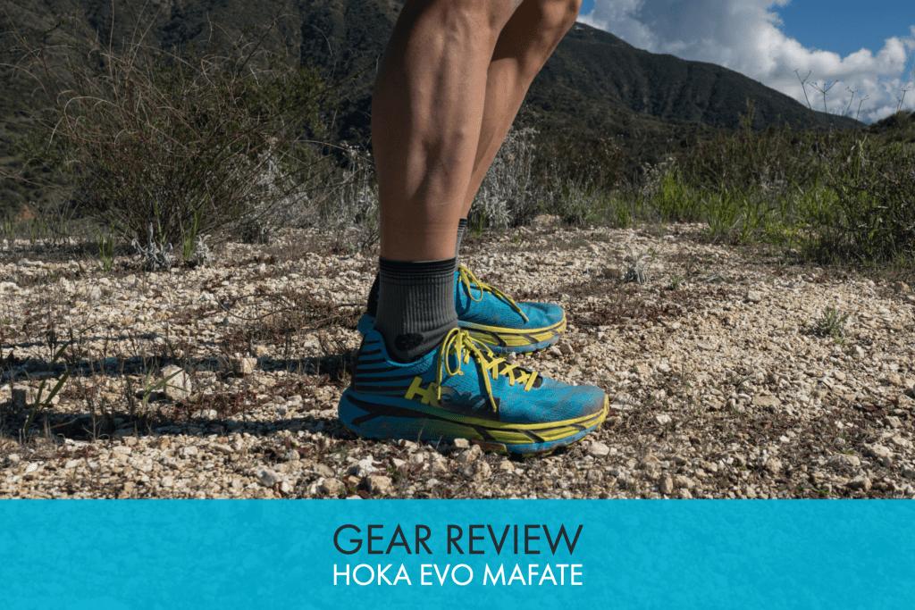 Hoka One One EVO Mafate Trail Shoe