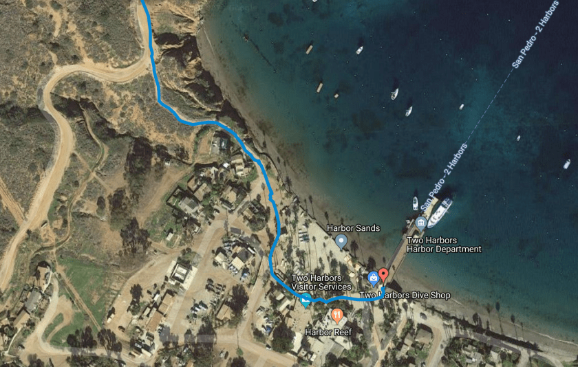 Backpacking on Catalina Island: Parsons Landing Campground via Two Harbors