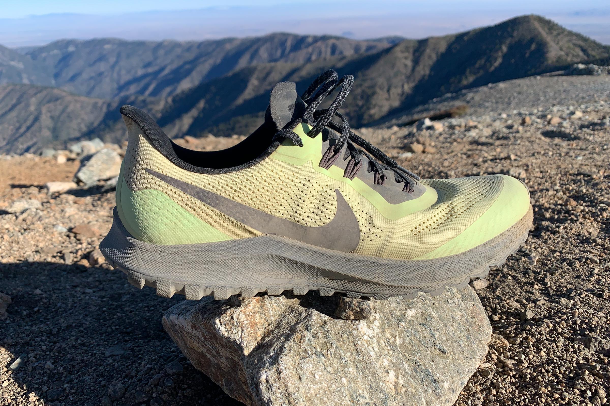 Nevada seno Prestador  Gear Review: Nike Air Zoom Pegasus 36 Trail Shoe - Trail to Peak