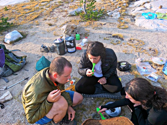 food for the john muir trail