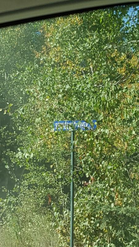 Kennebago river Rd Sign
