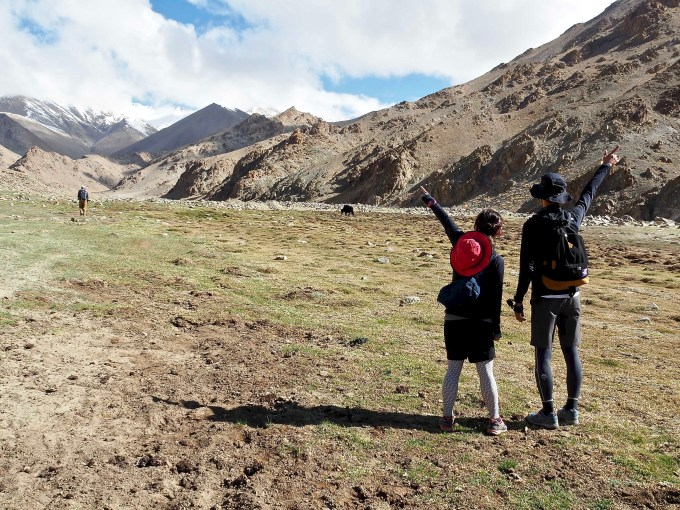 Ladakh Trek starting point