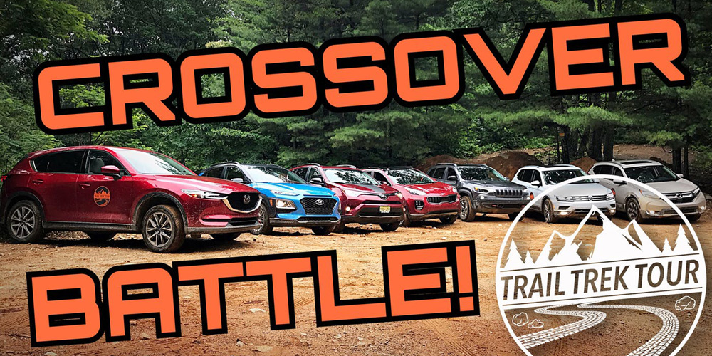 Shifting Lanes : 7 Crossovers Do Battle On An Off-Road Course And There Was One Clear Winner