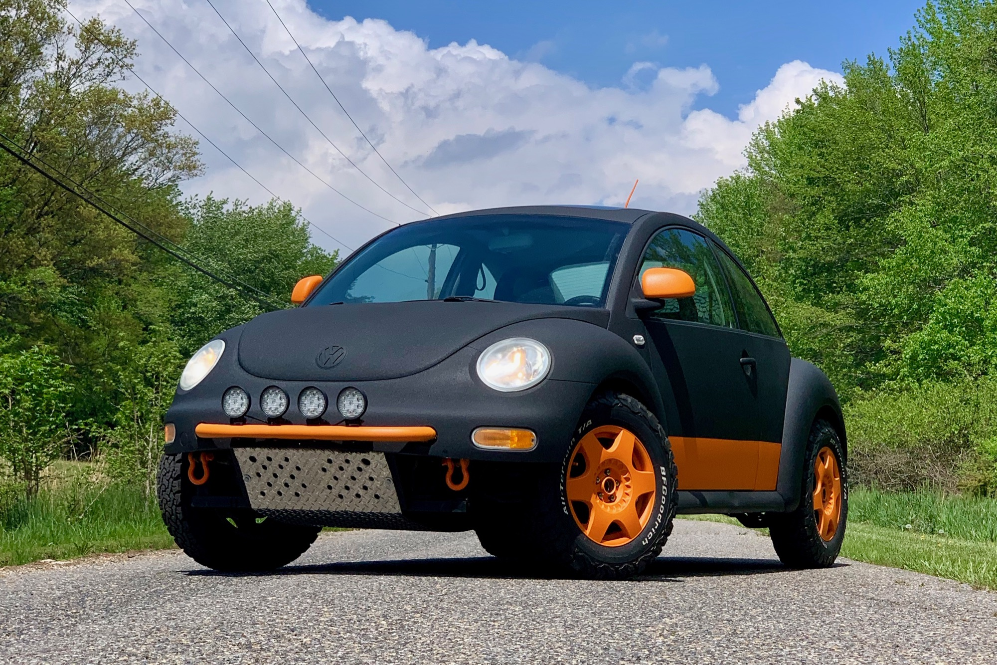 Gunaxin's Baja Bug Build