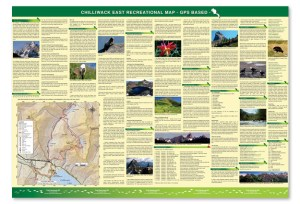 Chilliwack East Map -Backside Image