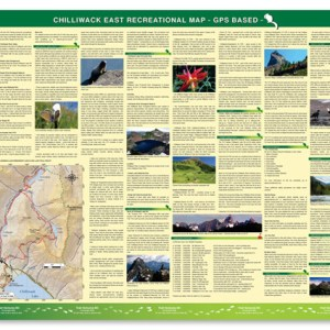 East Chilliwack hiking trail map -Backside Image
