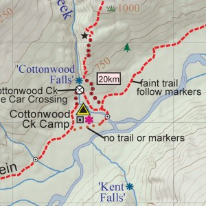 Stein trail map