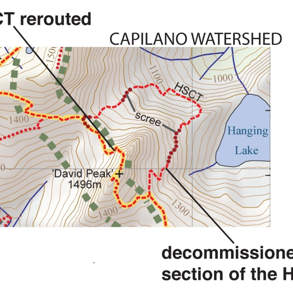 BC Trail Map Bulletins