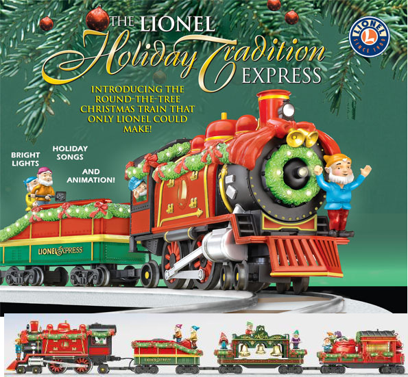 Lionel 11000 LIONEL HOLIDAY TRADITION EXPRESS SET LARGE