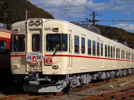 旧京王カラーの特急陣馬・高尾再現イベントにヘッドマーク製作
