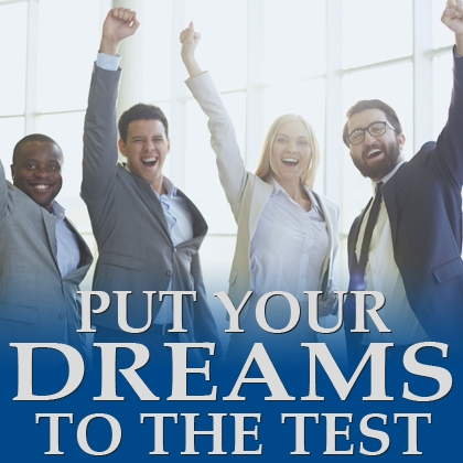 Put your Dreams to the test – course