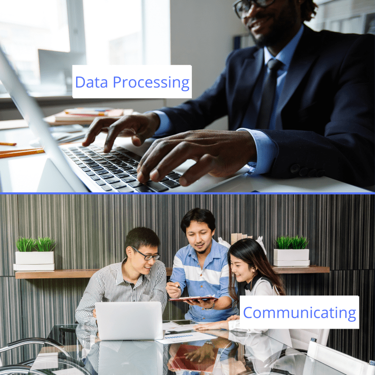 data processing and communication