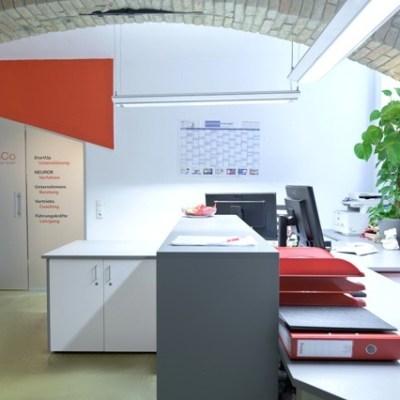 trainCo_Empfang und Sekretariat
