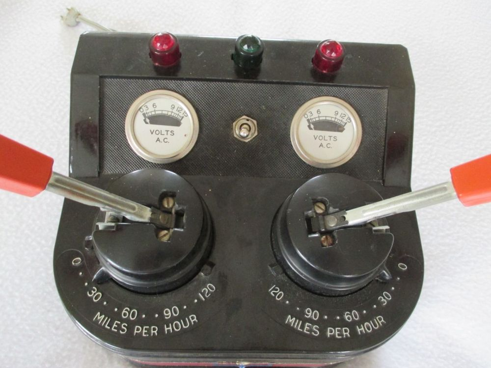 medium resolution of american flyer dual control transformer