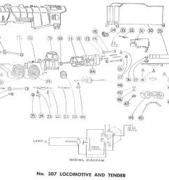 american flyer locomotive 299 307 parts list and diagram athearn parts diagrams locomotive locomotive train parts diagram [ 1938 x 1318 Pixel ]