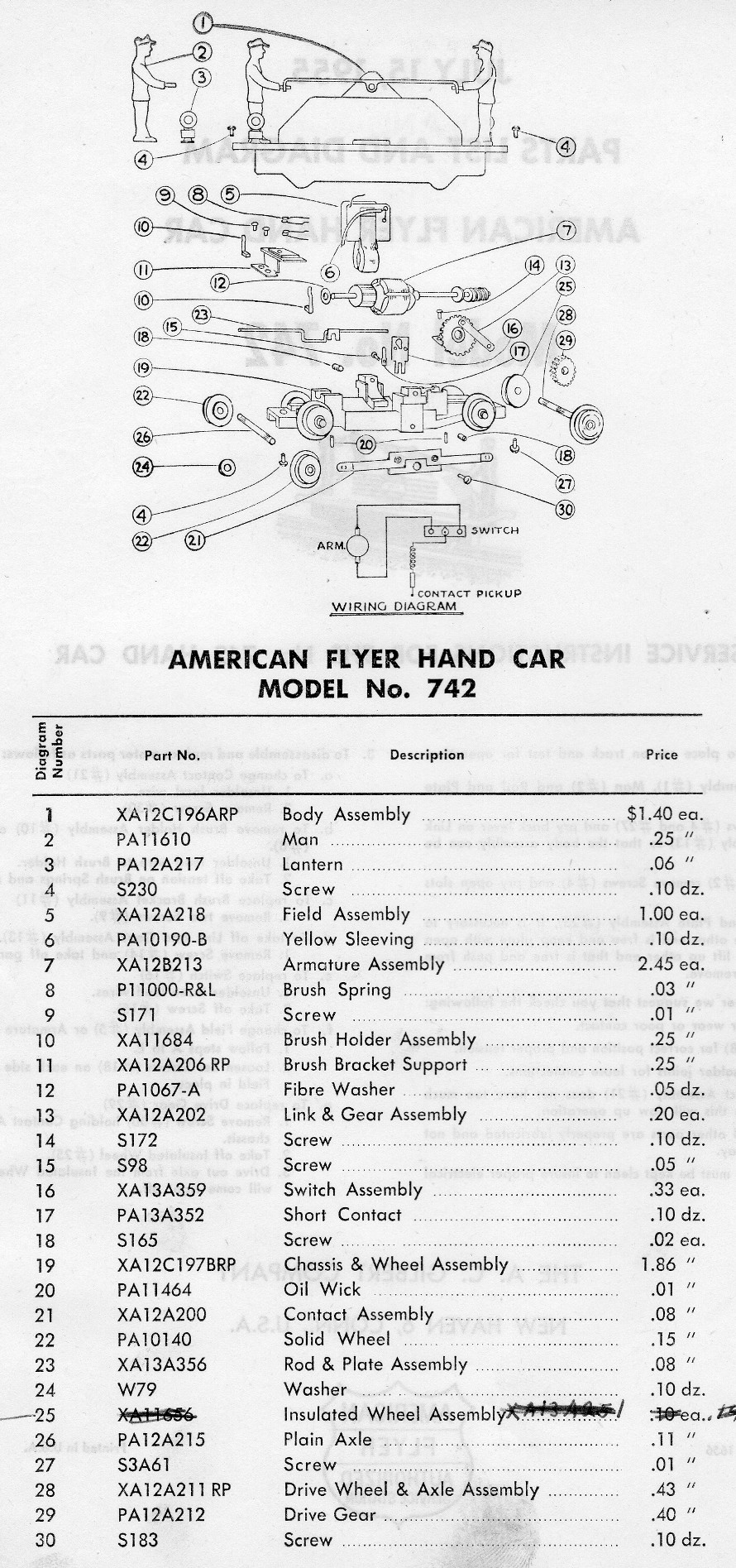 American Flyer 302 Wiring Diagram Auto Electrical Related With