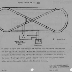 Loop Wiring Diagram Fujitsu Ten 86140 American Flyer Track Layouts Traindr