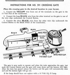 train accessory lionel crossing gate wiring diagrams wiring library lionel locomotive wiring diagram 591 crossing [ 1323 x 1855 Pixel ]