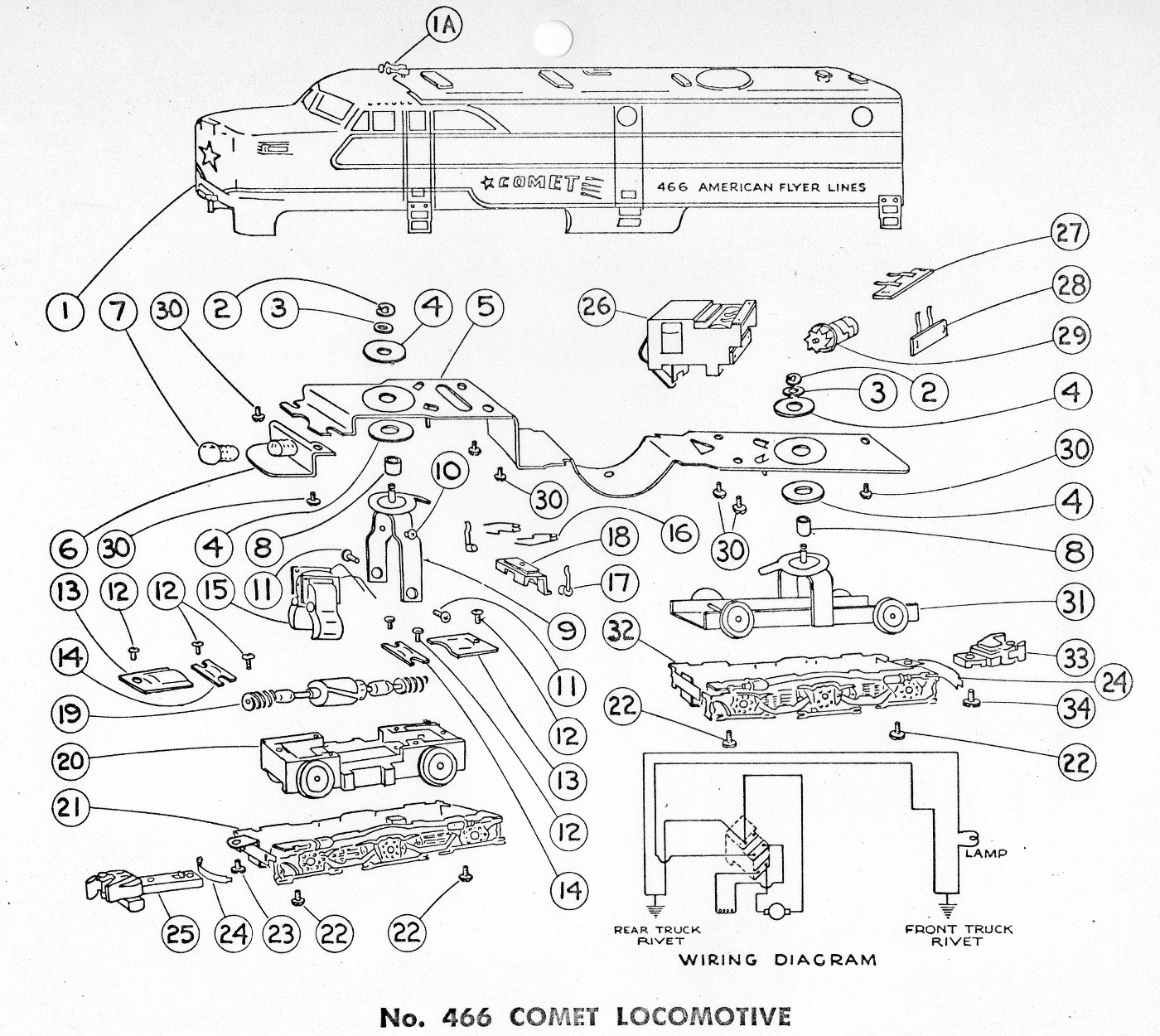 Lionel 497 Wiring Diagram Lionel Locomotive Wiring-Diagram