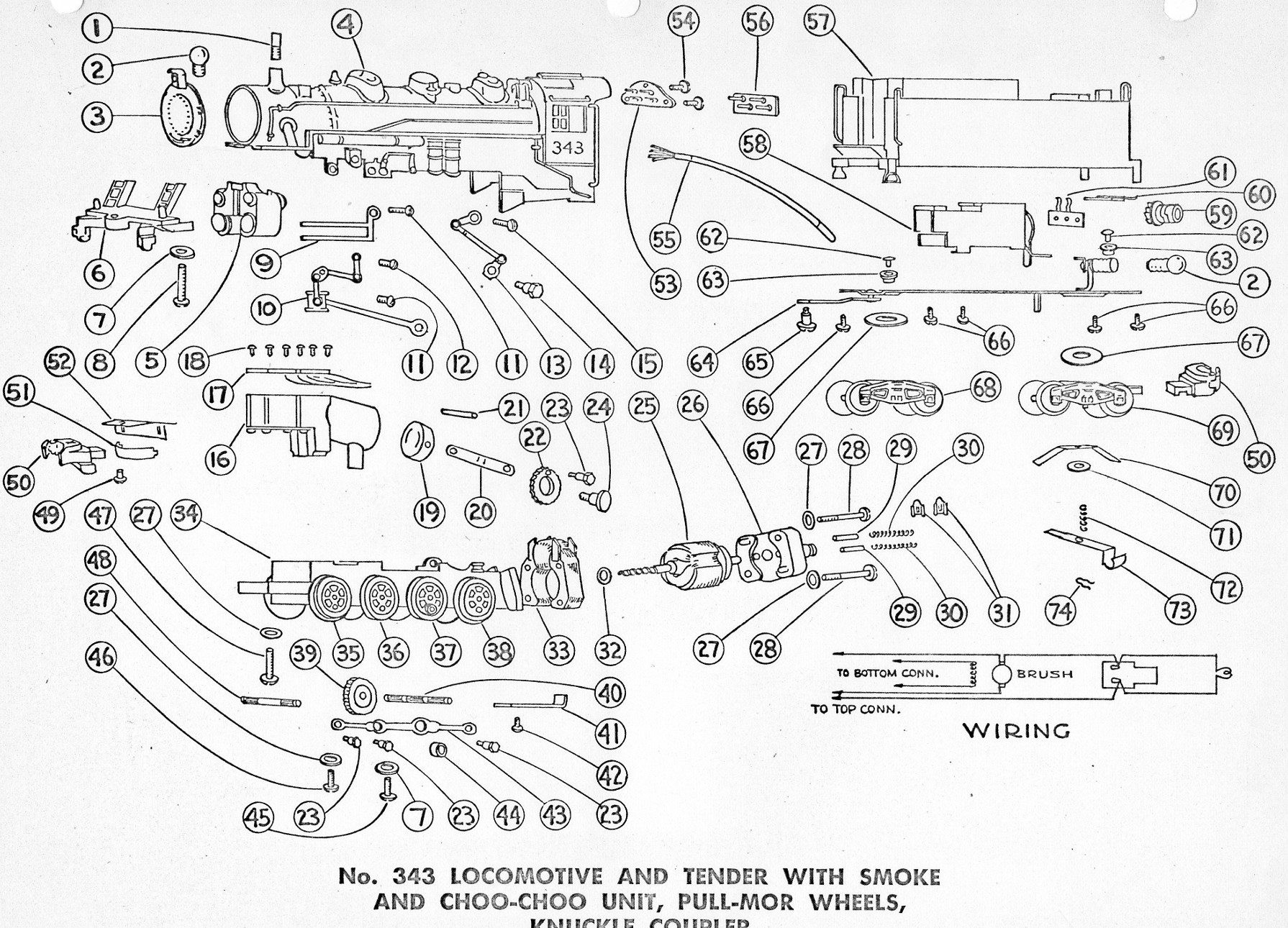 Diagram For Wiring Lionel Locomotive