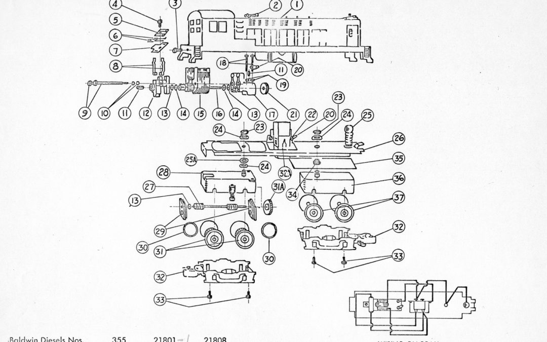 American Flyer Wiring Diagrams Locomotive 21812 Archives Traindr