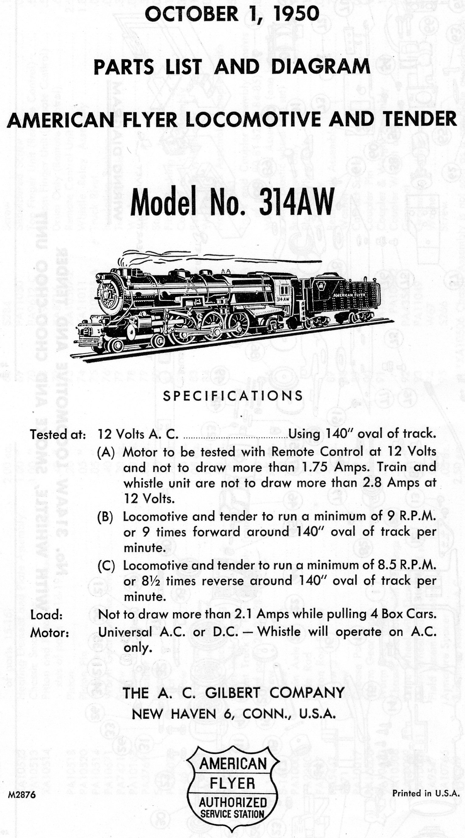 American Flyer Tender Wiring Locomotive Diagrams