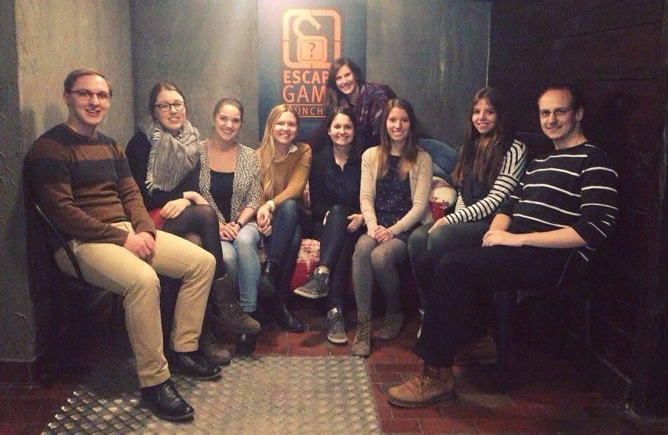 Trainees on Tour – Gruseln und Rätseln im Escape Game