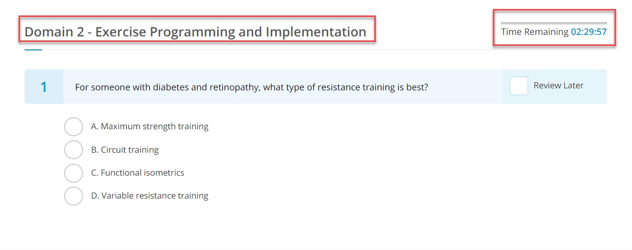 1 acsm test
