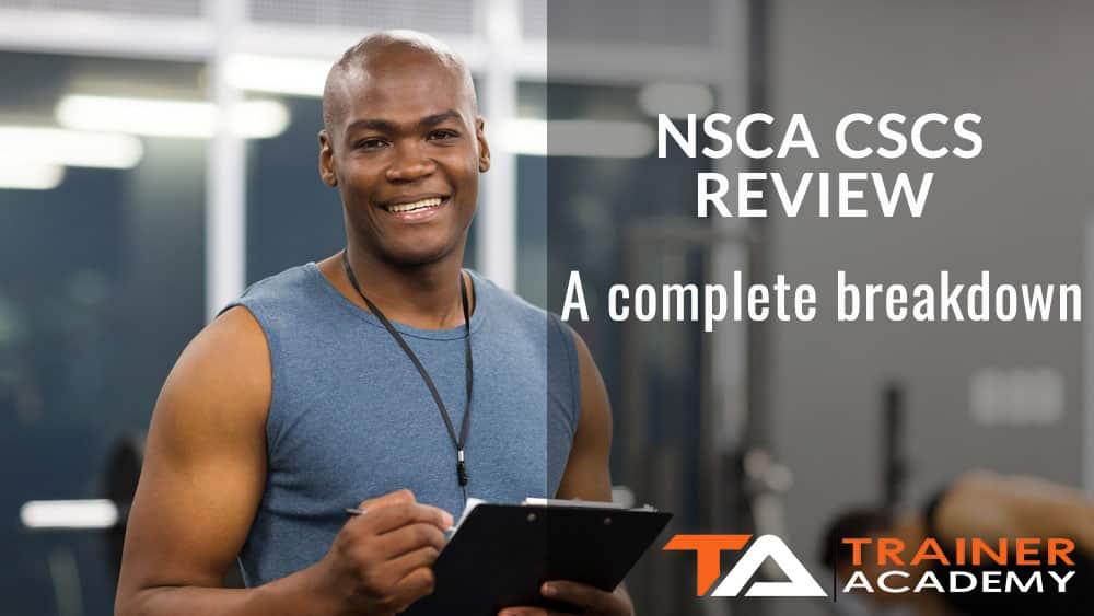NSCA CSCS Review