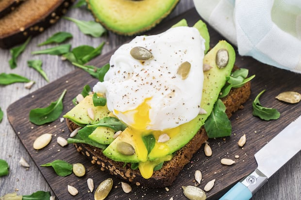 are eggs healthy fats