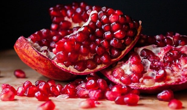 pomegranates superfood
