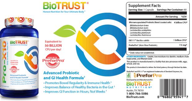biotrust pro-x10