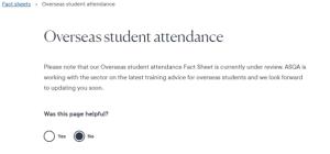 ASQA Attendance fact sheet 2