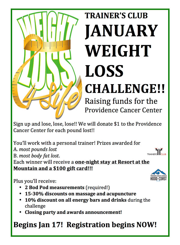 Weight Loss Challenge At Work : weight, challenge, JANUARY, WEIGHT, CHALLENGE, STARTS, REGISTRATION, GOING, NOW!!, Trainers