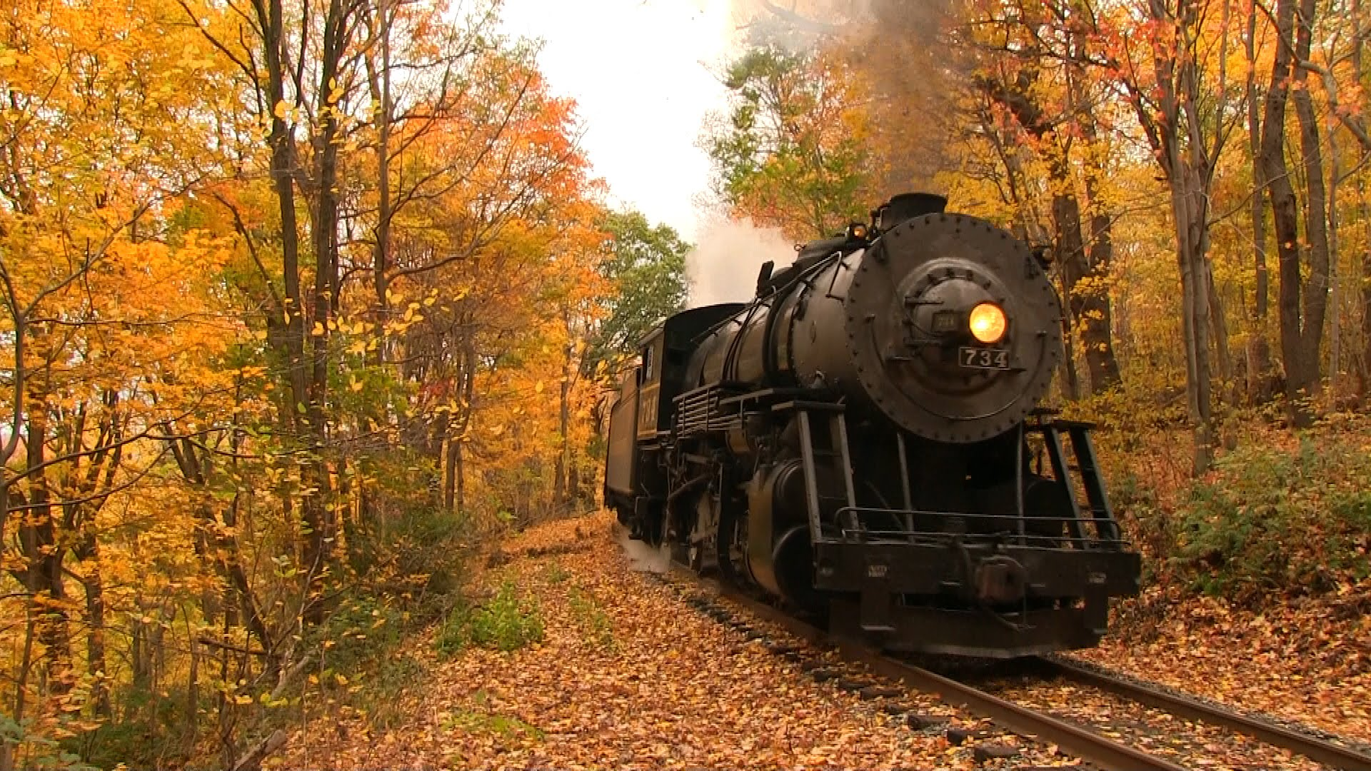 Fall Desktop Wallpaper Load Western Maryland Scenic Railroad S Fall Color Show