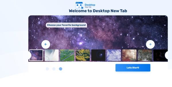 Desktop New Tab: Biến trang New Tab của Chrome giống màn hình desktop 4