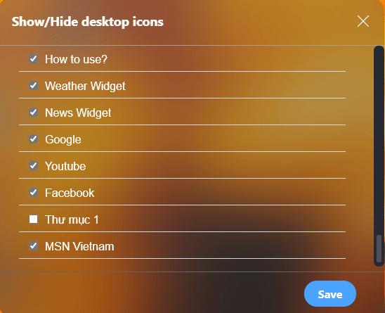 Desktop New Tab: Biến trang New Tab của Chrome giống màn hình desktop 8