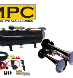 mpc m1 train horn kit [ 1500 x 1000 Pixel ]