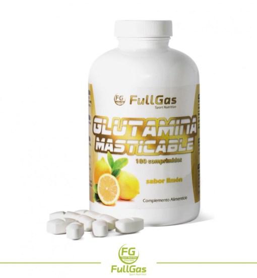 glutamina-masticable