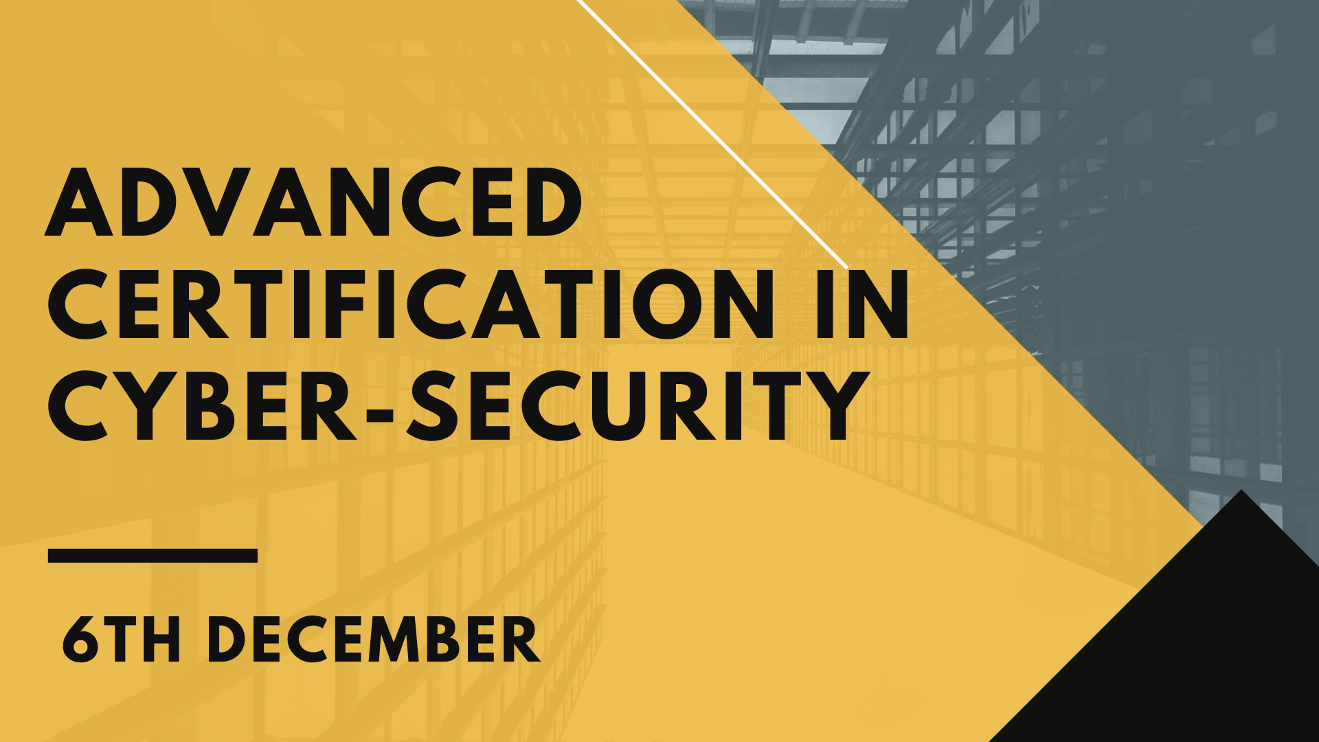 Advanced Certification in Cyber Security