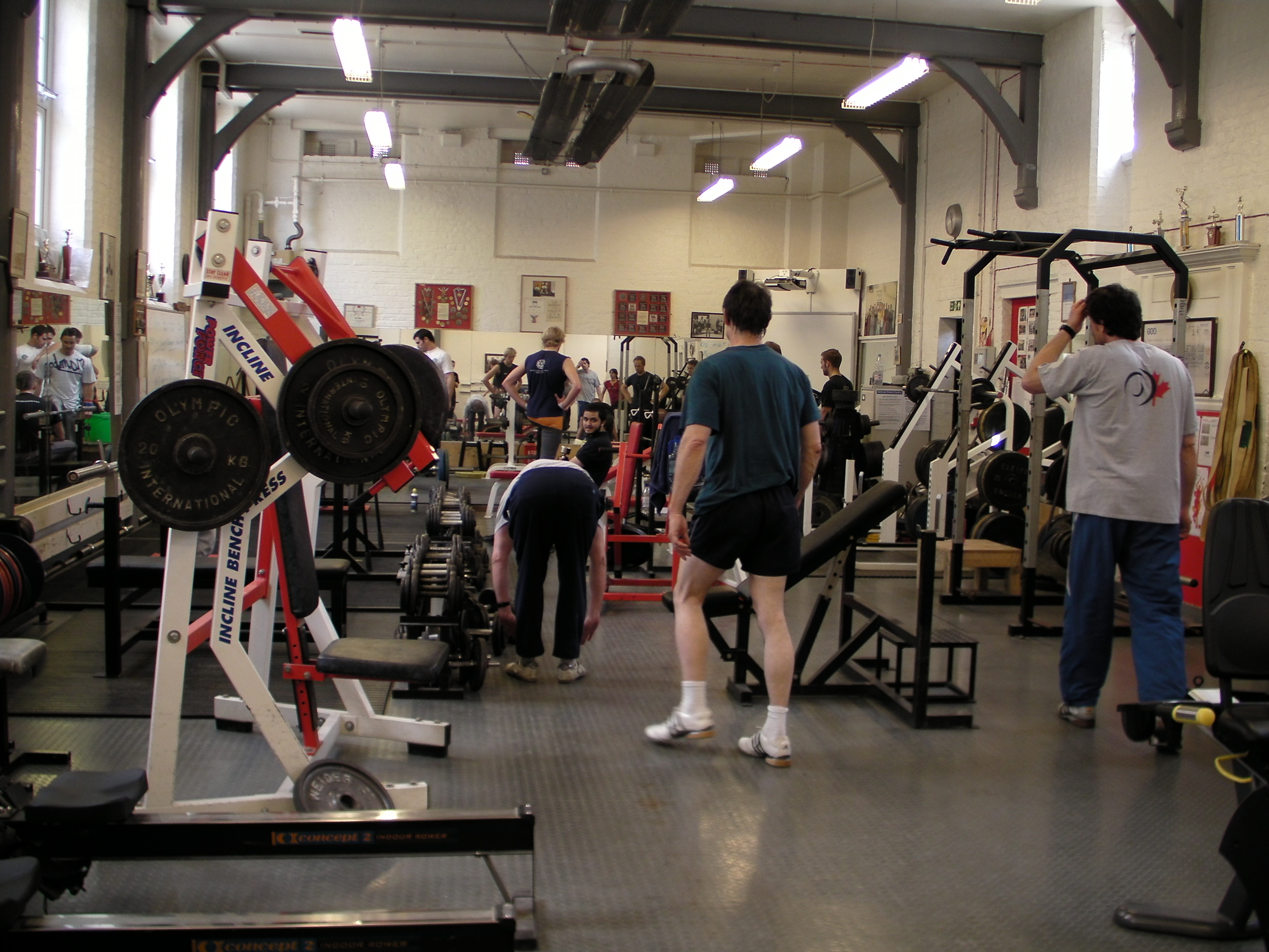Inside the Bethnal Green Weightlifting Club