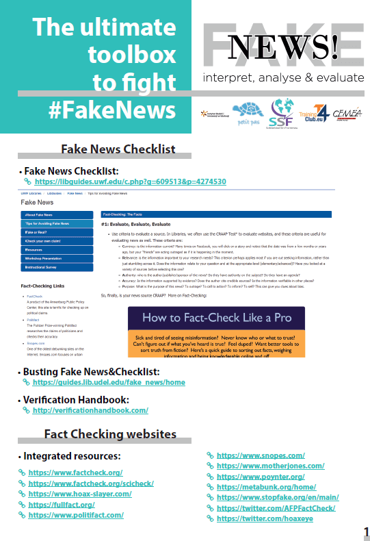 Fake News toos