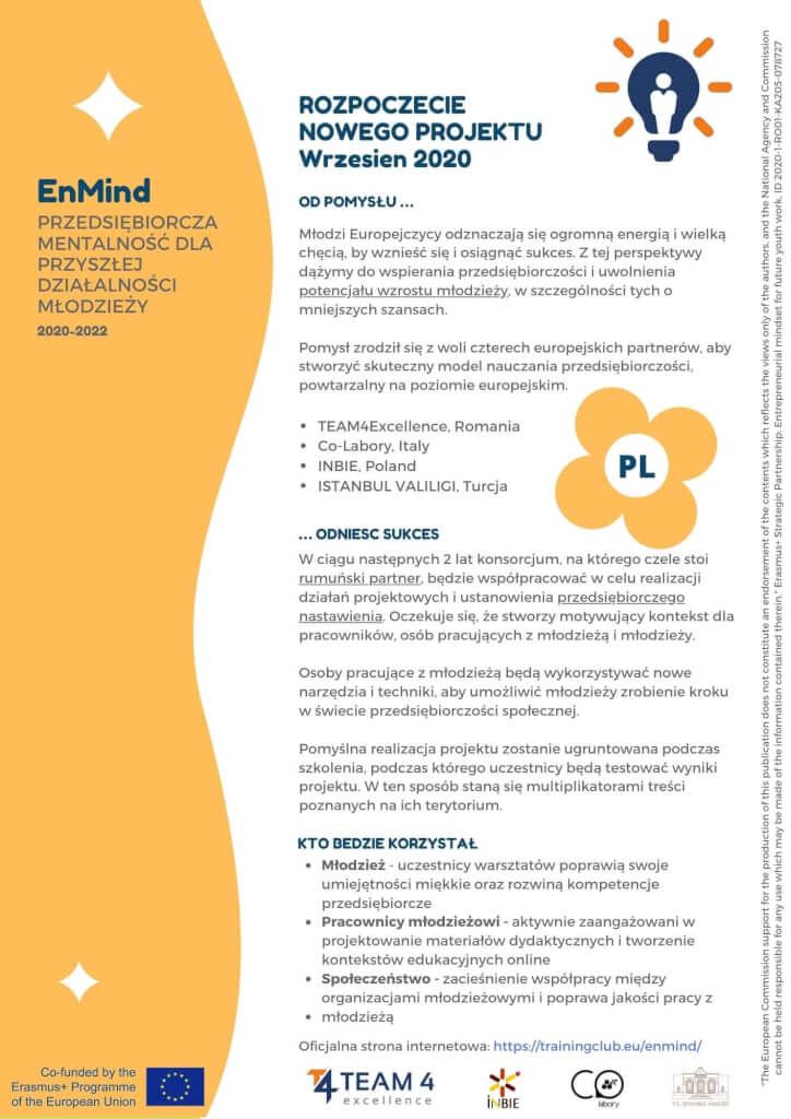 Entrepreneurial Mindset Leaflet 1 PL
