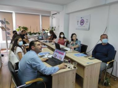 Youth at risk project meeting 1