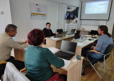 BeBlue Transnational Meeting 2, September 2021, Constanta