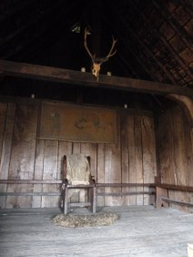King Ida's throne